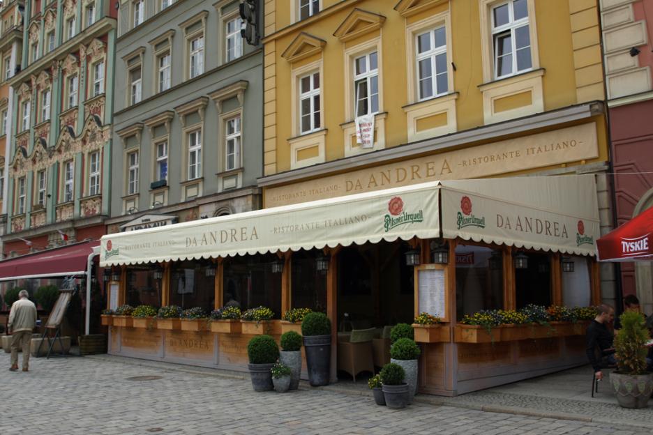 Restauracja Da Andrea Wroclaw Rynek Kuchnia Wloska
