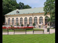 Stara Pomarańczarnia łazienki Królewskie W Warszawie