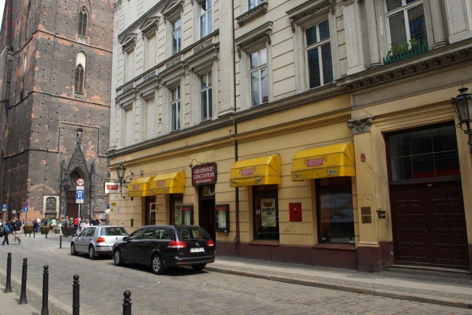 Gruzińskie Chaczapuri Wrocław Pl Kiełbaśnicza 7